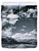Land Shapes 25 Duvet Cover by Priska Wettstein