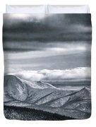 Land Shapes 4 Duvet Cover by Priska Wettstein