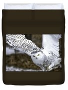 Landing Of The Snowy Owl Where Are You Harry Potter Duvet Cover