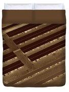 Landing Strips Duvet Cover