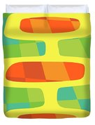 Abstract Pods Duvet Cover