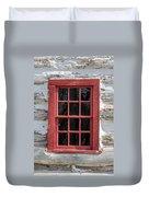 Landow Cabin Window Duvet Cover