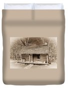 Landow Log Cabin 7d01723b Duvet Cover