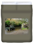 Landrover And The Ford  Duvet Cover