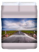 Lands End Start And Finish Line Duvet Cover