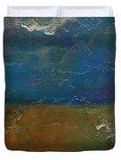 Landscape # 18 - Prints Available But Original Sold Duvet Cover
