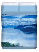 Landscape Duvet Cover by Anonymous
