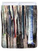 Landscape Forest Trees Duvet Cover