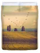 Landscape In France Duvet Cover