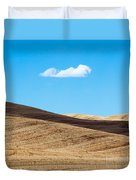 Landscape In Summer Tuscany Italy Duvet Cover