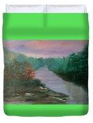 River Dreamscape Duvet Cover