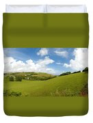 Landscape Near Hallsands In Devon Gb Duvet Cover