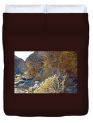 Landscape Of Big Painted Canyon Trail In Mecca Hills-ca Duvet Cover