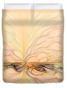 Landscape Of Fantasy Duvet Cover