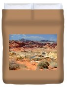 Landscape Of Valley Of Fire State Park Duvet Cover