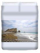 Seascape  Paphos Cyprus Duvet Cover