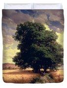 Landscape With Oaks Duvet Cover