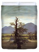 Landscape With Solitary Tree Duvet Cover