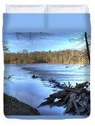Landsford Canal-1 Duvet Cover