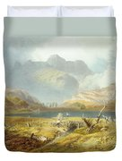 Langdale Pikes, From The English Lake Duvet Cover