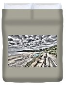 Langland Bay Painterly Duvet Cover