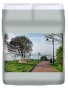 Langmoor-lister Gardens -- Lyme Regis Duvet Cover