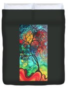 Languishing In The Breeze Original Art Madart Duvet Cover