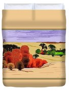 Lanscape 102 Duvet Cover