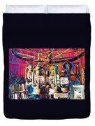 Lantern Chandelier 02 Duvet Cover