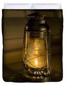 Lantern On Granite Duvet Cover