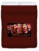 Lantern Stall 01 Duvet Cover