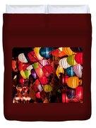 Lantern Stall 03 Duvet Cover