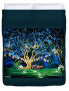 Lantern Tree Duvet Cover