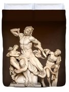 Laocoon And Sons Duvet Cover