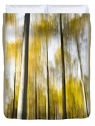 Larch In Abstract Duvet Cover