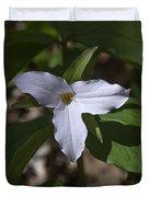Large-flower Trillium Dspf277 Duvet Cover