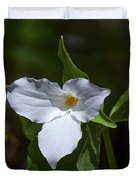 Large-flower Trillium Dspf279 Duvet Cover