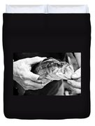 Large Mouth Bass Duvet Cover