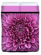 Large Pink Dahlia 2 Duvet Cover