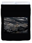 Large Scale Of Rice Terrace Duvet Cover