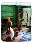 Large Spinning Wheel Duvet Cover