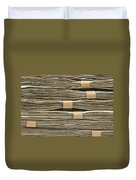 Large Stack Of American Cash Money Duvet Cover