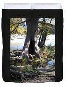 Large Tree Trunk Duvet Cover