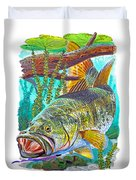Largemouth Bass Duvet Cover