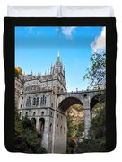 Las Lajas Sanctuary Duvet Cover