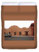 Las Vegas New Mexico Church Duvet Cover