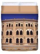 Las Ventas Bullring Madrid Duvet Cover