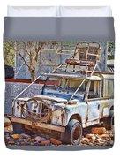 Lasseter Land Rover Duvet Cover