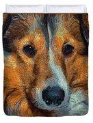 Lassie - Rough Collie Duvet Cover