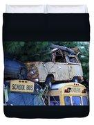 Last Bus Stop Duvet Cover